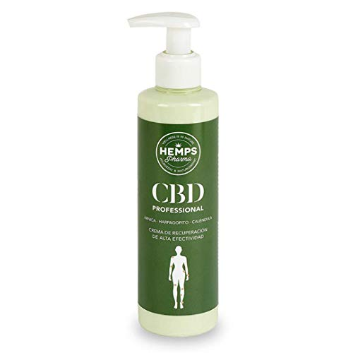 Hemps Pharma - CBD Professional | Massage Creme met CBD (400 mg Cannabidiol) - 250 ml
